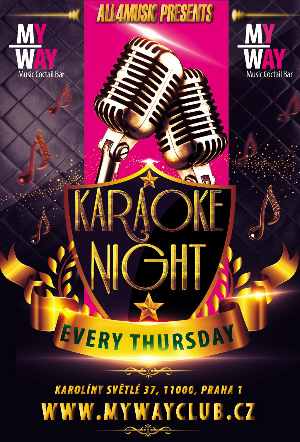 Karaoke show Praha