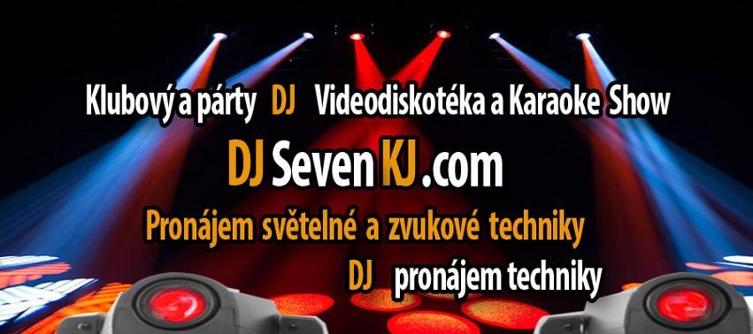 Dj zvukař pronájem techniky akce Praha