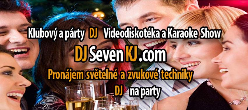 Dj na party Praha a celá ČR