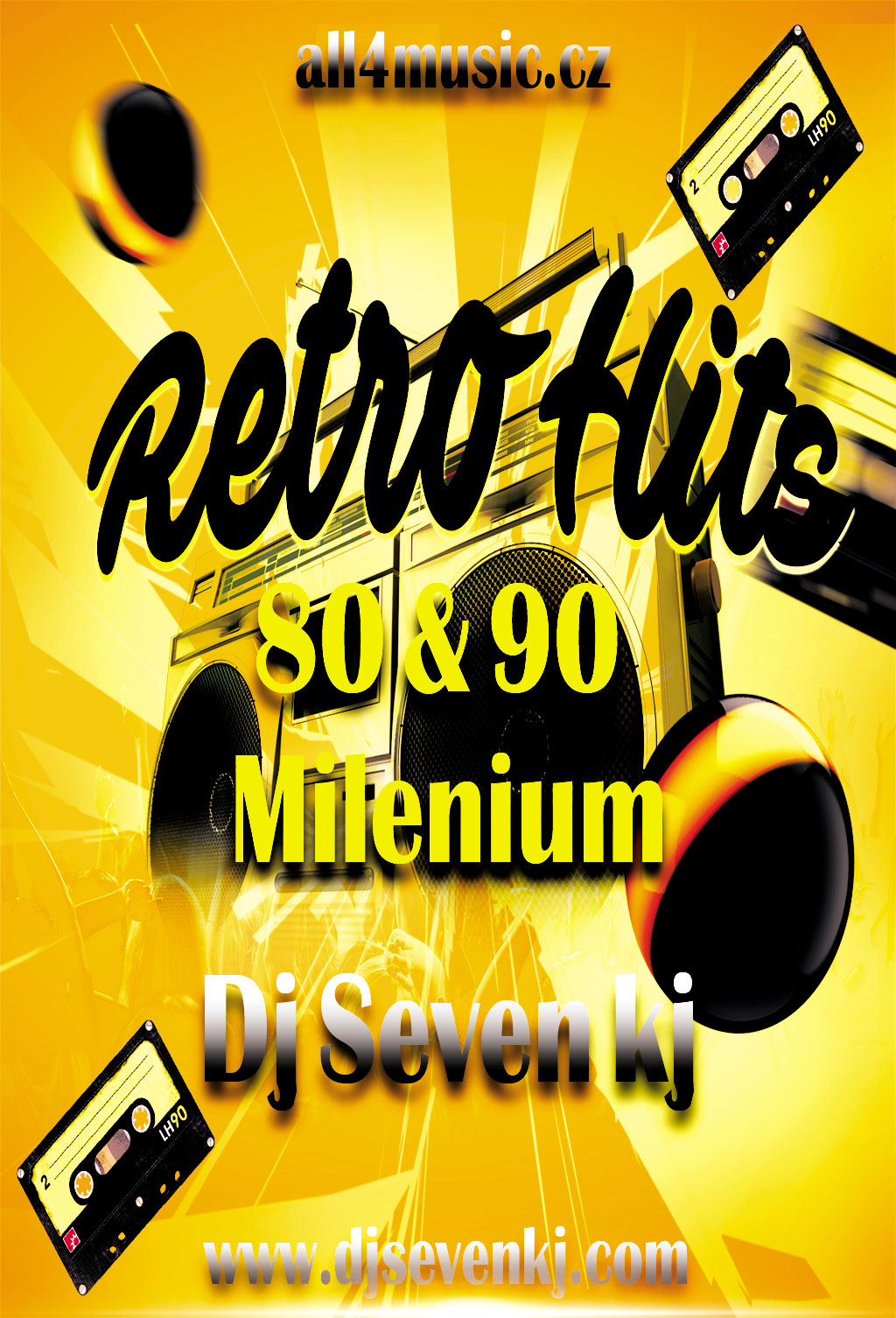 Retro dj disco 80 90