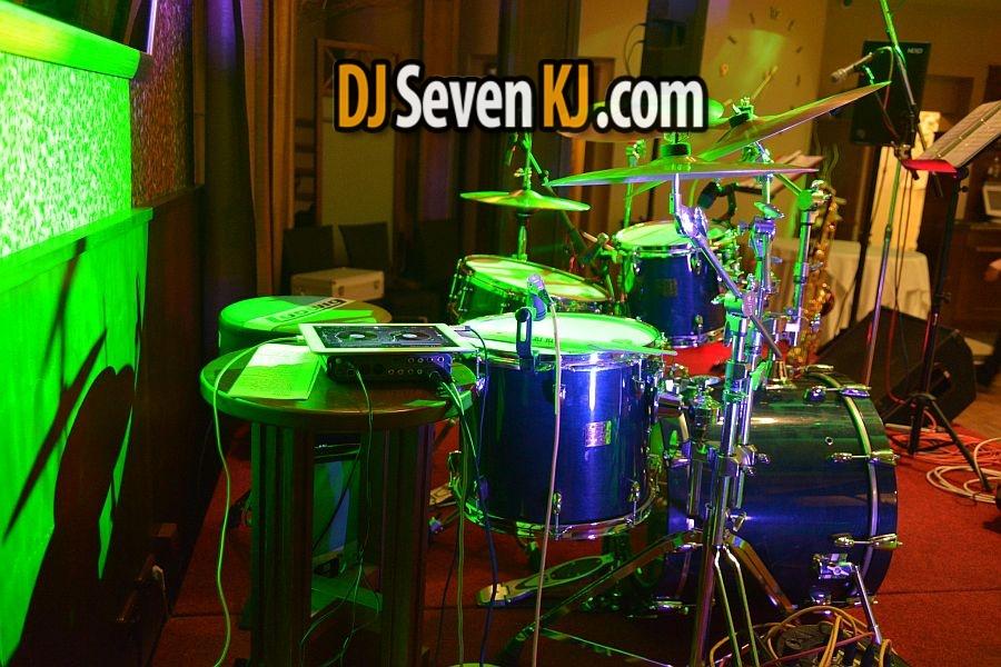 Ozvučení bicích a dj